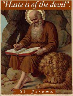 St. Jerome...