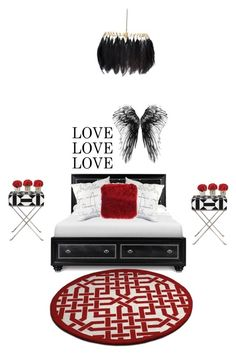 """Untitled #94"" by bruhitsbriannas on Polyvore featuring interior, interiors, interior design, home, home decor, interior decorating, Surya, Uttermost and Mineheart"