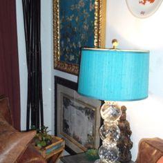Ralph Lauren crystal lamp/dayle winston home