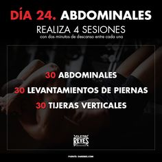 Día 24. Abdominales. #RetoDelBoxeador #Box #Boxing #CletoReyes #workout #training