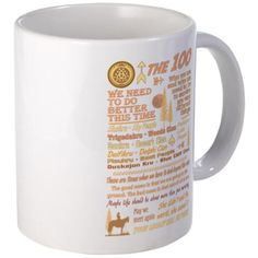 The 100 Mugs #the100 #the100tv #ArkStation for all of this design click here - http://www.cafepress.com/dd/104110250