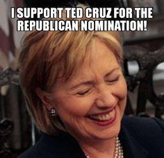 Hillary Clinton VS. Ted Cruz