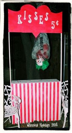 images of creepy carnival - Yahoo Image Search Results Scary Carnival, Halloween Carnival Games, Haunted Carnival, Carnival Decorations, Halloween Circus, Creepy Halloween Decorations, Diy Halloween Decorations, Halloween Themes, Creepy Circus