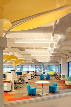 millennials in the workplace more collaboration less private space very cool office design adobe offices san jose san
