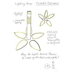 Lighting design 1: Design concept sketch - willembrouwer-art.it