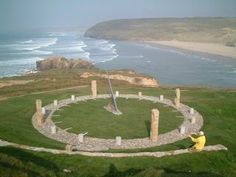 The Droskyn Sundial, Cornwall, England England Ireland, England And Scotland, British Travel, Devon And Cornwall, Holiday Places, Places Of Interest, English Countryside, Great Britain, Places To See