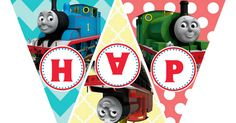 Thomas the Train Printable Birthday Banner