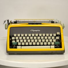 Olympia, based in Western Germany, became hugely successful with the introduction of the 60's SM-9 and SM-9 Deluxe. Featuring a Pop Art-oriented design, a simple, modern body style and classic German precision, the SM-7 is easily one of the finest-working machines of its age. This Olympia SM-7 was custom-painted by Kasbah Moderne.