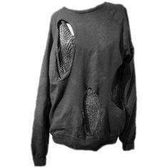ZaSlike.com - Besplatni upload slika! ❤ liked on Polyvore featuring tops, sweaters, doll parts and shirts