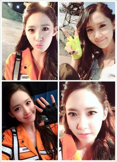 Yoona snsd catch me if you can selca