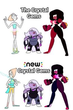 How come pearl have different poses?