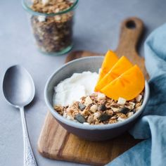 DSC_0352 Granola, Yogurt, Cereal, Breakfast, Food, Morning Coffee, Essen, Meals, Yemek