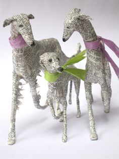 Lorraine Corrigan - sculpture - really love these, could use modelling clay and newspaper to make something like these!