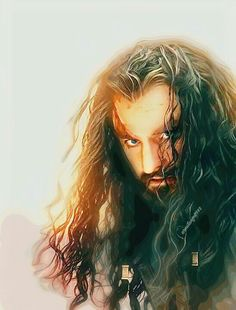 Discovered by thoza †. Find images and videos about the hobbit, richard armitage and thorin oakenshield on We Heart It - the app to get lost in what you love. O Hobbit, The Hobbit Movies, Hobbit Art, Tolkien Books, Jrr Tolkien, Bilbo Baggins, Thorin Oakenshield, Thranduil, Legolas