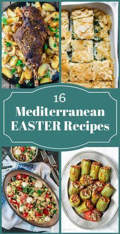 All-Star Mediterranean Easter Recipes! Leg of lamb, Greek potatoes, spanakopita, stuffed zucchini, unique salads, bakalava and more! Tutorials included!