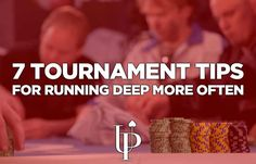Use these 7 poker tournament tips to improve your strategy and make the final table more often. These are meant for both live and online tournament players. High Roller, Video Poker, Poker Face, Online Poker, Managing Your Money, Casino Games, Trading Strategies, Online Casino, Improve Yourself