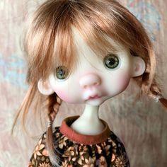 Anako by Dododolls Tiny Dolls, Ooak Dolls, Cute Dolls, Mermaid Fairy, Baby Fairy, Bjd, Baby Nap Mats, Arte Fashion, Witch Face