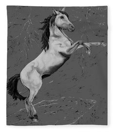 Going Wild Fleece Blanket x by Faye Anastasopoulou. Our luxuriously soft throw blankets are available in two different sizes and feature incredible artwork on the top surface. Sketch Drawing, Art Sketches, Horse Portrait, Canvas Art, Canvas Prints, Pattern Pictures, Artist At Work, Wood Print, Fine Art America