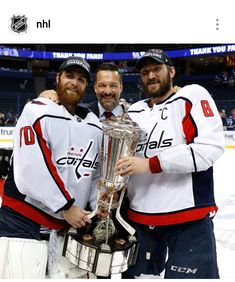 Holtby and Ovechkin Help the caps make it to Stanley Cup Finals 2018  Stanley Cup 2018 67ed3d5bc