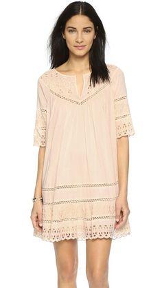 Love Sam Eyelet Cotton Voile Dress