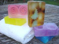 Handmade Glycerin Soaps: A Kelly Soap Sampler