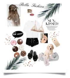 """Summer morningzzz😴"" by queen-bellaa ❤ liked on Polyvore featuring Off-White, Jax and Bones, WALL, Vince and Umbra"