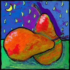 Use this coupon code: XMZKPF to receive 20% off at checkout. Now through 6/24/2014  FRENCH PEARS AT MIDNIGHT....Great for the kitchen as a METALPRINT.  No need for framing.  Click the pic to see more of MosesART.