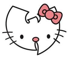 Wu tang/ Hello Kitty sign