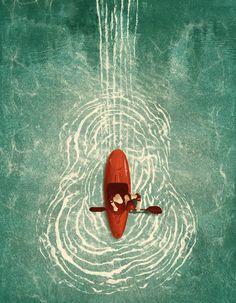 Music Festival Guide - Kevin Howdeshell Illustration