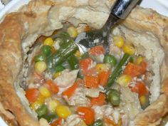 Rustic Pot Pies are a great way to turn your leftovers into something tasty that will warm you up.