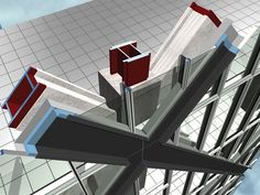 CCTV by OMA and ARUP: Sectional view through facade structure