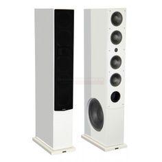 Advance Acoustic Kubik K11s - Enceintes colonnes Laqué Blanc ou Noir