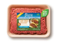 New Pure Farmland plant-based protein starters is a veggie ground beef so you can enjoy tasty plant-based protein without giving up your favorite dishes Veggie Lettuce Wraps, Vegan Potato Curry, Breakfast Burger, Breakfast Quiche, Pickled Green Beans, Irish Beef, Plant Based Burgers, Plant Based Breakfast, Plant Based Protein