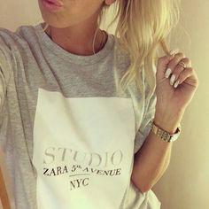 #fashion #zara #TeeShirt