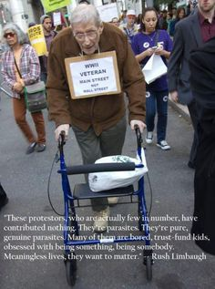 Love these idle, useless folks involved in OWS