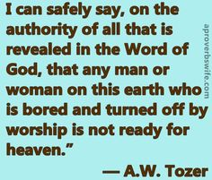 Are You Ready for Heaven? - A Proverbs Wife