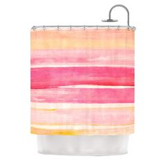 KESS InHouse Coulour Play Polyester Shower Curtain | AllModern
