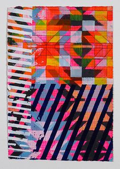 Jennifer Sanchez   Textile Inspired print pattern