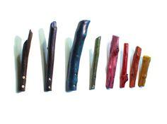 Painted driftwood coat hooks by Kiel Mead Painted Driftwood, Driftwood Ideas, Painted Wood, Wall Storage Systems, Storage Ideas, Bathroom Wall Storage, Wood Hooks, Diy Hooks, Salvaged Wood