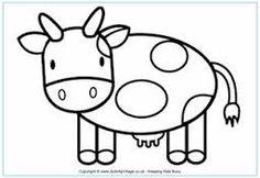 farm animals templates - Buscar con Google