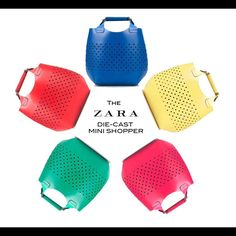 Zara Die-Cast Shopper Bag