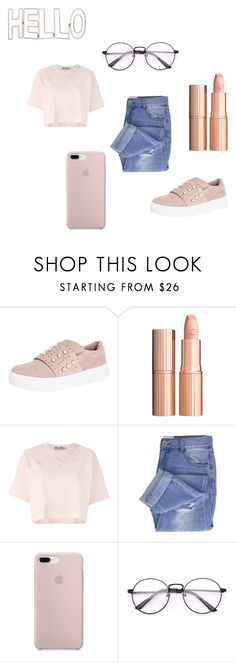"""All Fashion"" by giovanna-zarichen on Polyvore featuring Steven, Charlotte Tilbury, adidas, Taya e Graham & Brown"