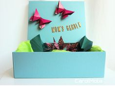 Celebrating Mother's day with an origami garden #origami