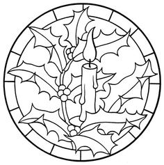 Holly And Candle Christmas Coloring Page See the category to find more printable coloring sheets. Also, you could use the search box to find what you . Coloring Pages To Print, Colouring Pages, Coloring Sheets, Coloring Pages For Kids, Coloring Books, Christmas Colors, Christmas Art, Christmas Mandala, Family Christmas
