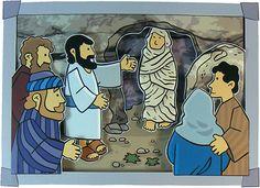 La resurrección de Lázaro. Juan 11:1-44.