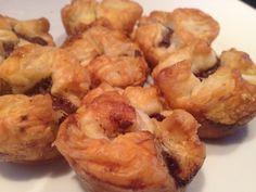 Bocconcini alla Nutella #nutella #cakes #pastry