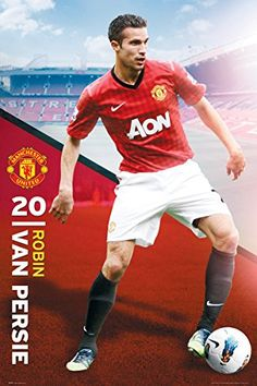 England Manchester United Robin Van Persie Pose (2012-2013 Season) English Football Soccer Player Sports Fan Poster Print 24x36 GB http://www.amazon.com/dp/B00N80H4TO/ref=cm_sw_r_pi_dp_e-uXub1ADDRSC