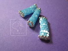 Satin beads, cut-off beads - something I never want to try again. Consider this a warning. Beadwork, Beading, Cut Off, Cufflinks, Knowledge, Satin, Accessories, Beads, Satin Tulle