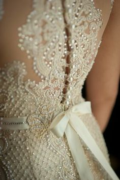 Gorgeous beaded wedding dress || @Kimberly Peterson Peterson Peterson Peterson Kalmbach