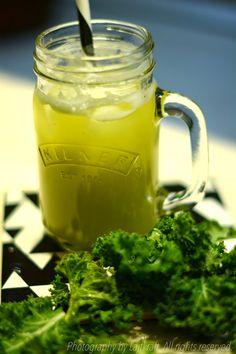 Curly kale smoothie   LAJTKRAFT food
